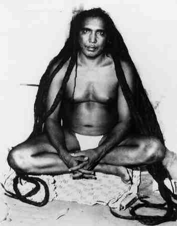 Yoga Guru Sri Tat Wale Baba - Rishi of the Himalayas - four days before his mahasamadhi.